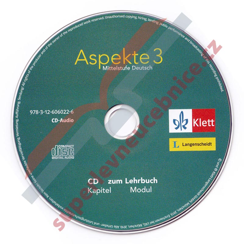 Aspekte 3 - 3 audio-CD k 3. dílu