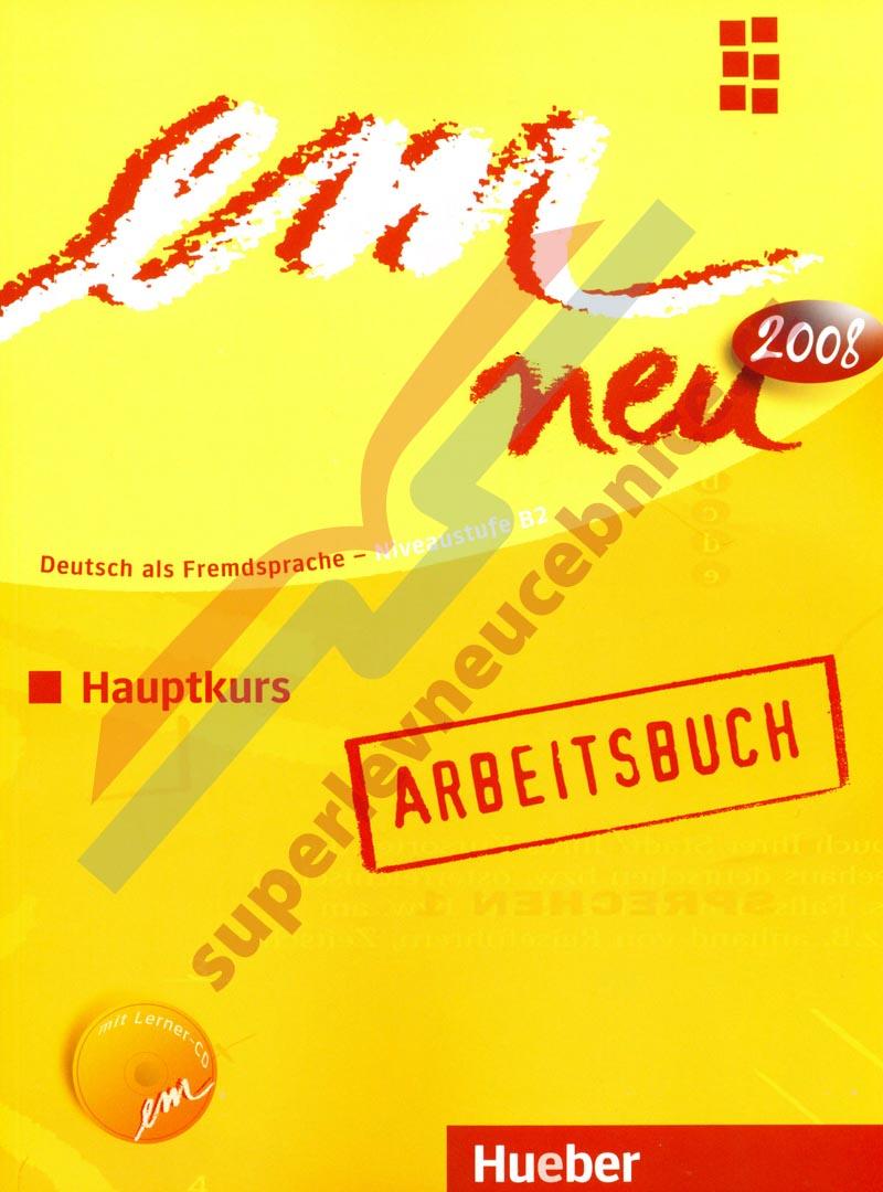 Hueber EM NEU 2008 Abschlusskurs KURSBUCH+ARBEITSBUCH C1 Lektion 6-10 mit CD New