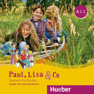 Paul, Lisa & Co A1.1 - 1 audio-CD k učebnici