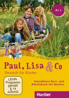 Paul, Lisa & Co A1.1 - interaktivní učebnice