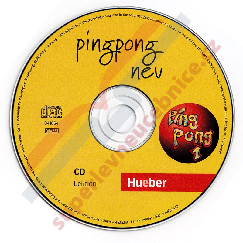 Pingpong 1 Neu - 2 audio-CD k učebnici