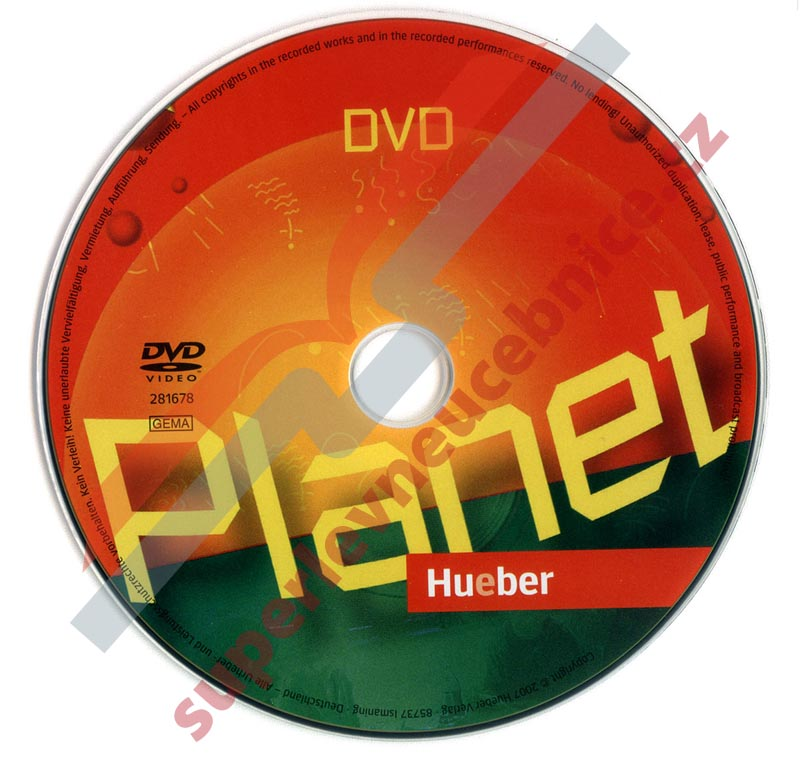Planet DVD - scénky ke knize Planet 1