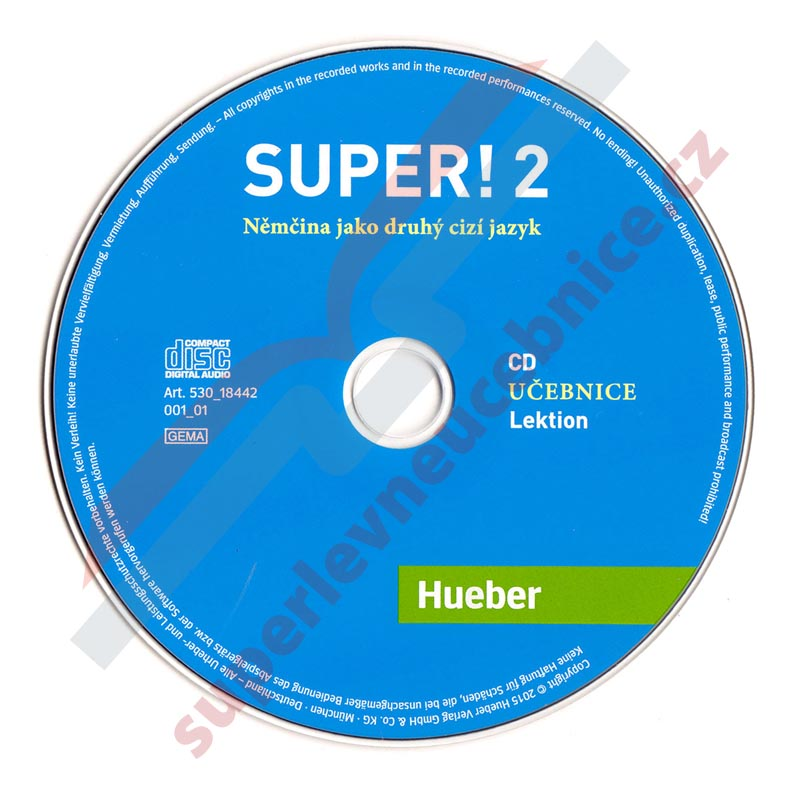 Super! 2 - 2 audio-CD k učebnici A2