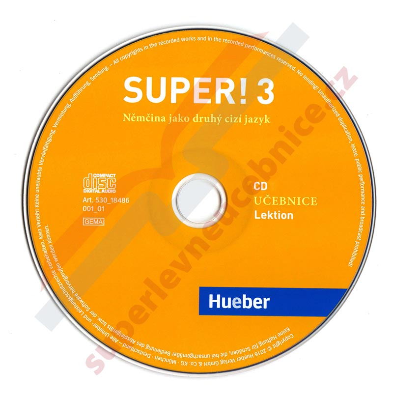Super! 3 - 2 audio-CD k učebnici B1