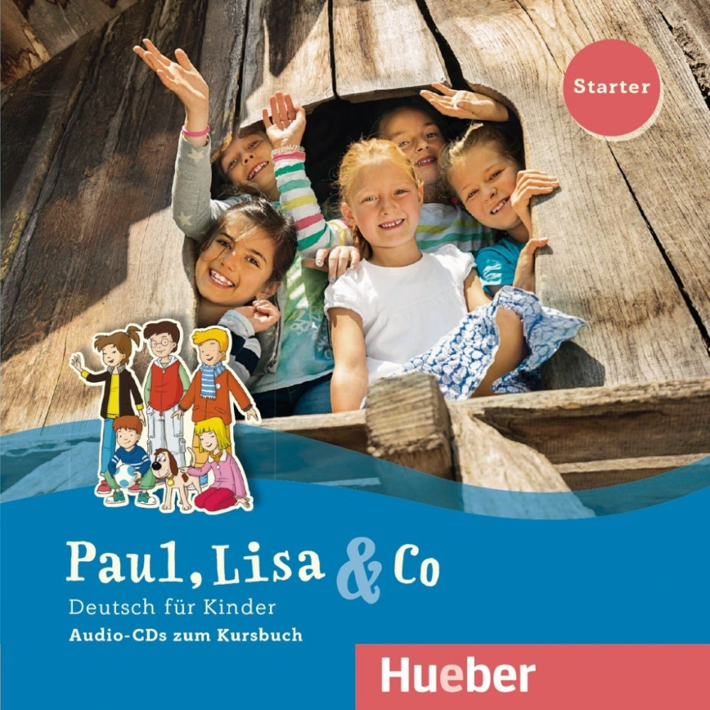 Paul, Lisa & Co Starter - 2 audio-CD k učebnici